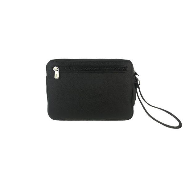 bolso de mano hombre mediano negro1