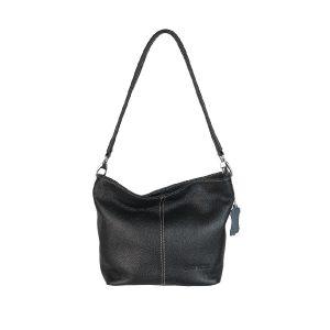 bolso de piel basic 502 negro