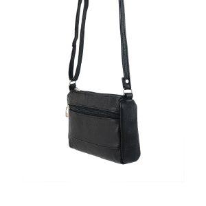bolso de piel clasic mini negro 2