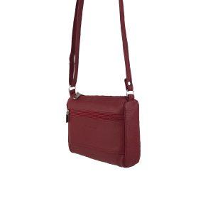 bolso de piel clasic mini rojo 2