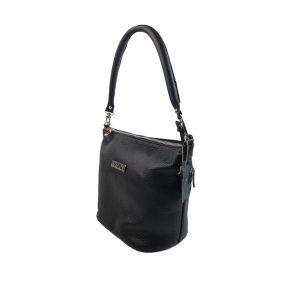 bolso de piel cubo negro 2