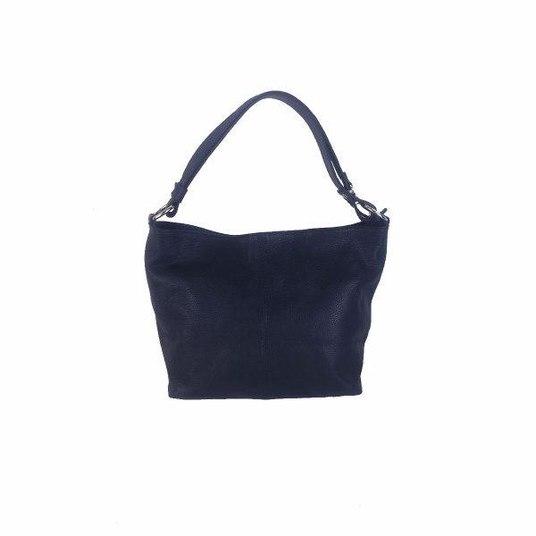 bolso de piel verona azul marino