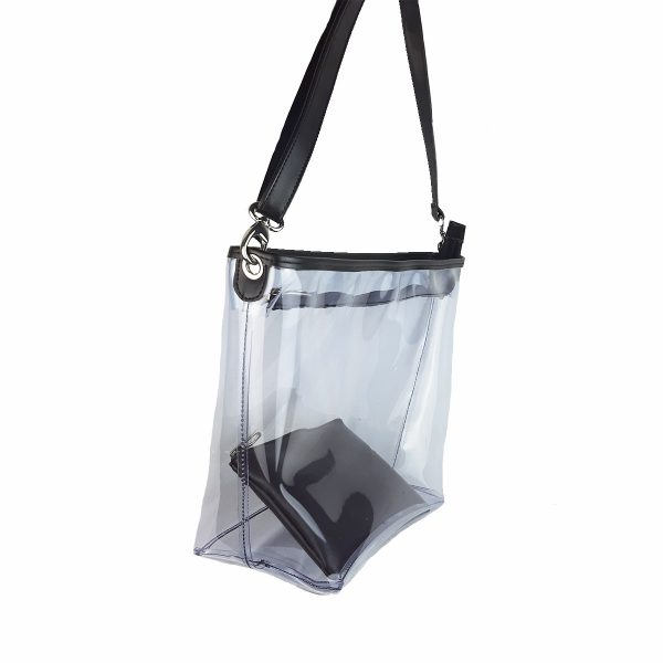 bolso transparente basic 503 lateral