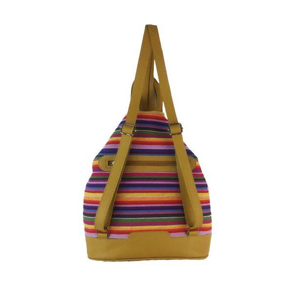mochila antirrobo rayas amarillo1