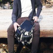 mochila de camuflaje mod