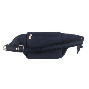 riñonera de piel marino bolsillo tupí 1